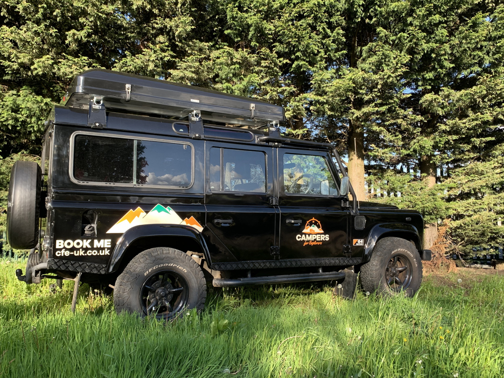 Explorer Betty - Campers for Explorers